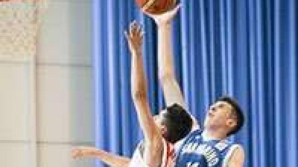 Basket: San Marino battuto nella finale per il bronzo