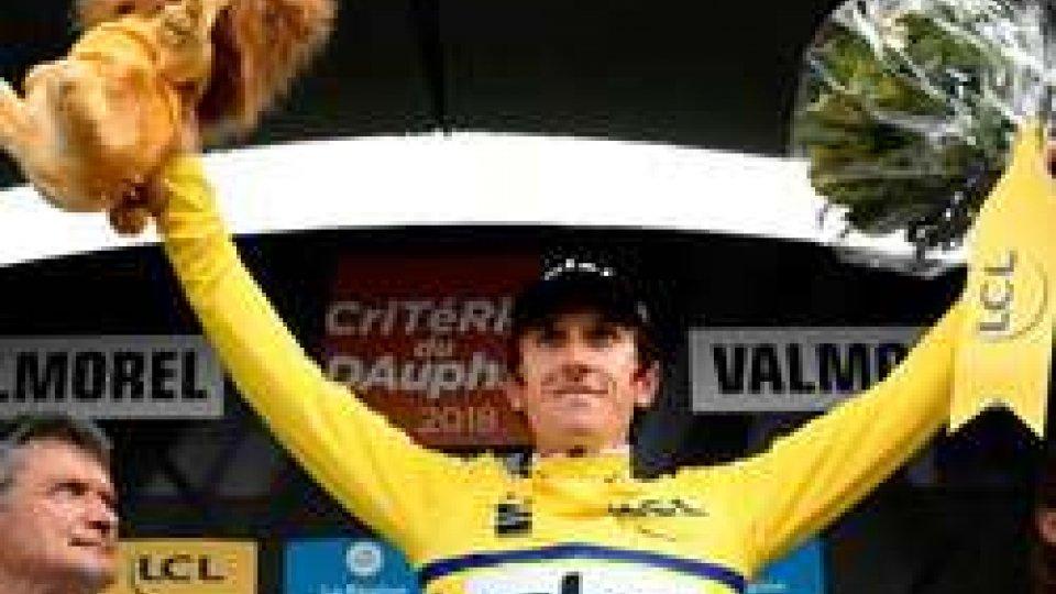 Geraint Thomas vince il Giro del DelfinatoCiclismo: Geraint Thomas vince il Giro del Delfinato