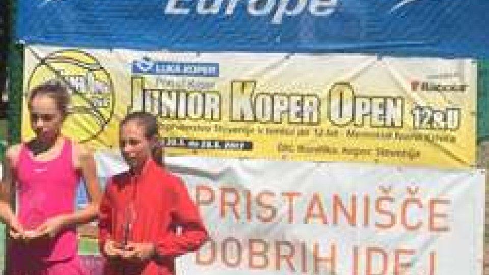 Tennis: Giulia Dal Pozzo si ferma in semifinale nel torneo Europe Under 12 sloveno di Koper