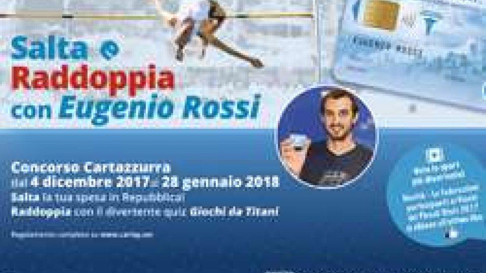 """Eccoci alla MAXI ESTRAZIONE FINALE del concorso  """"Salta e Raddoppia con Eugenio Rossi!"""": oggi ricchi premi per i vincitori!"""
