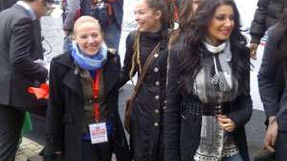 Valentina Monetta ad Amsterdam con altri artisti