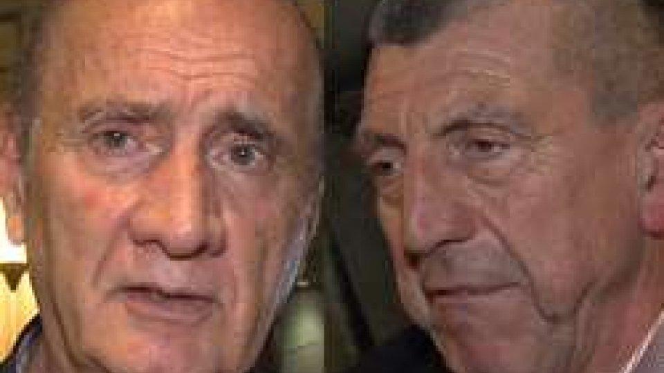 Luciano Capicchioni Renzo VecchiatoBasket: Rimini festeggia 70 anni di storia. Le interviste a Luciano Capicchioni e Renzo Vecchiato