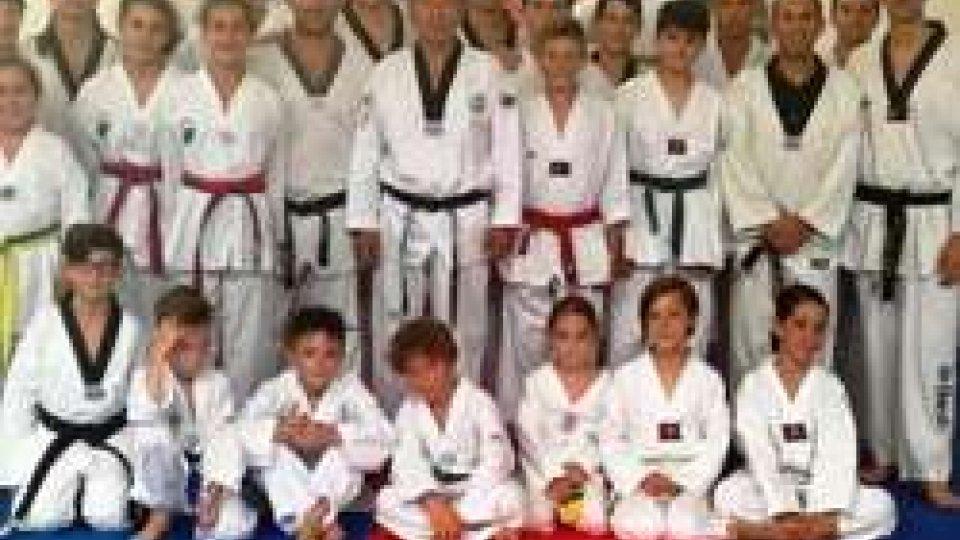 Taekwondo: superati gli esami per il passaggio di grado