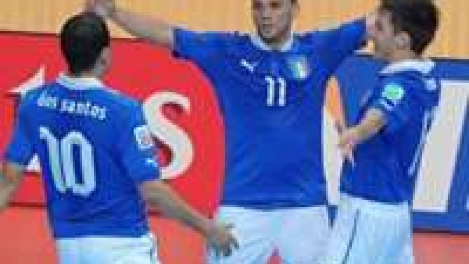 Italia in testa, battuta l'Argentina 3-2