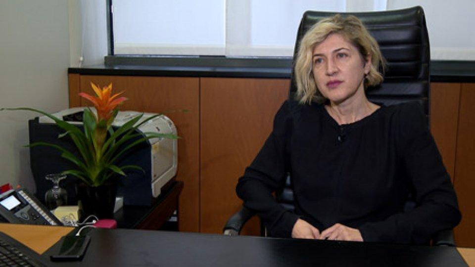 """Catia Tomasetti in collegamentoNotizie allarmanti su istituto di credito: Catia Tomasetti, """"attacchi per destabilizzare fiducia risparmiatori"""""""
