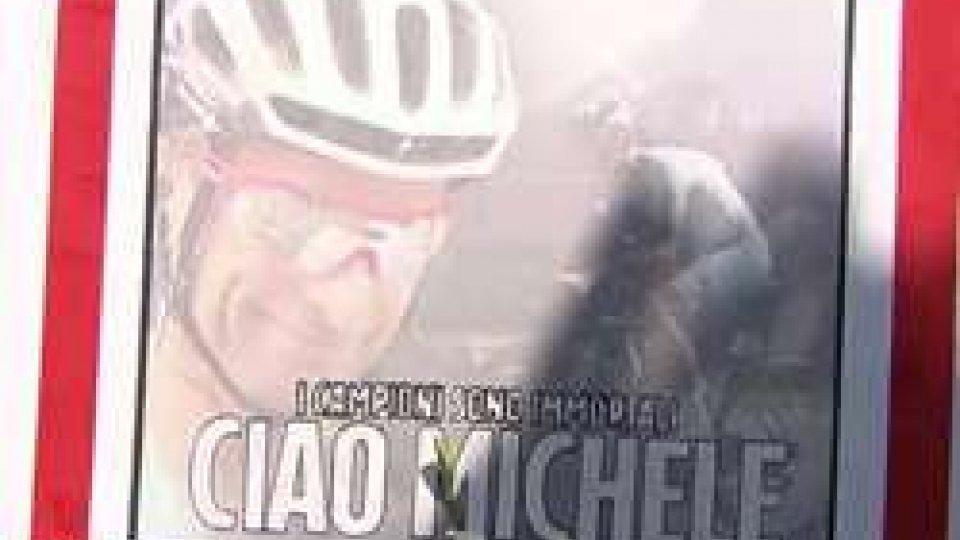 L'ultimo saluto a Michele Scarponi