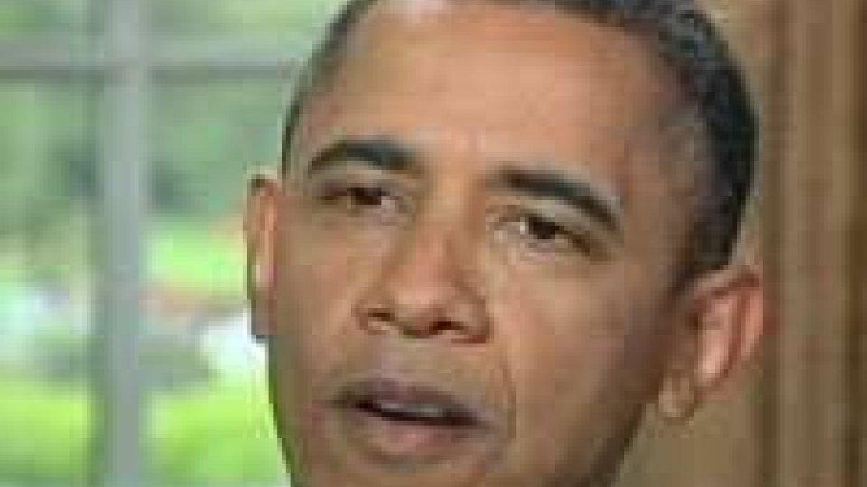 Barack Obama si schiera a favore dei matrimoni gay