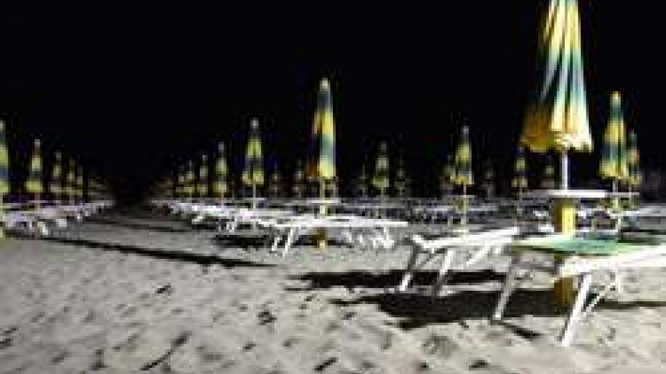 Spiaggia di RiminiRimini, verso l'ordinanza balneare 2017: spiagge illuminate tutta la notte