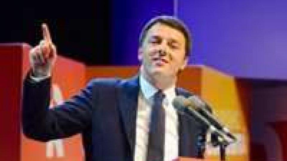 Pd: Rrenzi trionfa alle primarie, oggi sarà a Roma