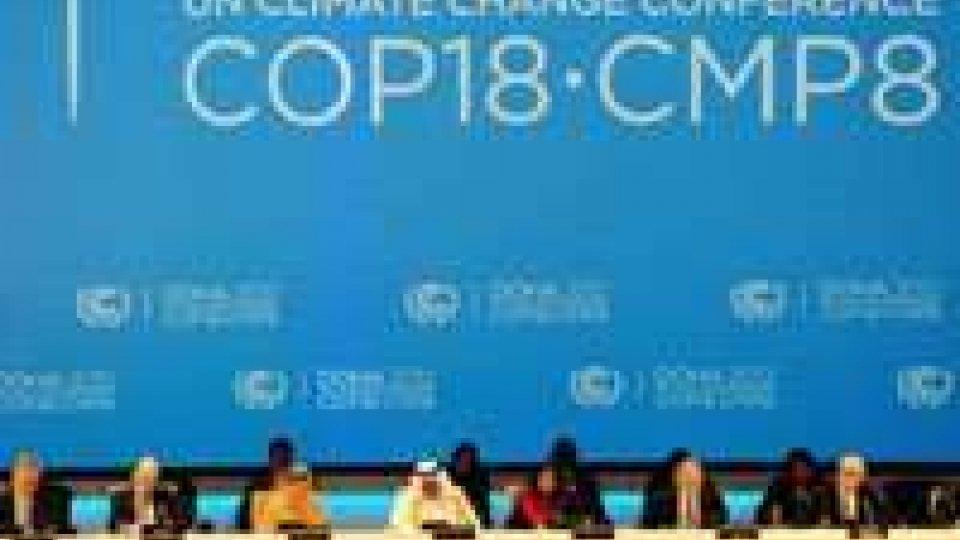 Si apre a Doha la conferenza sul clima