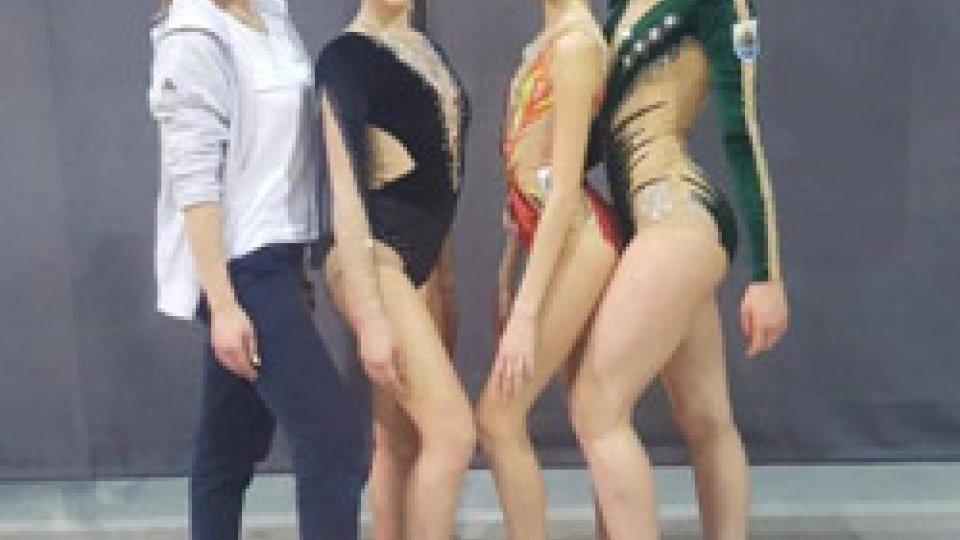Società Sportiva Ginnastica San Marino in evidenza nel fine settimana