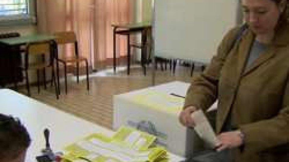 Un seggio a Rimini