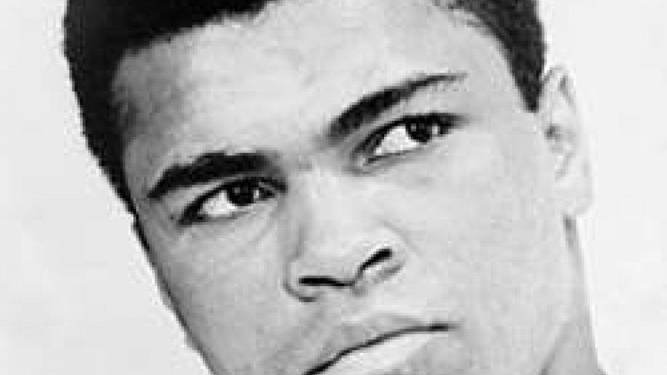 Il pugile Mohammad Ali