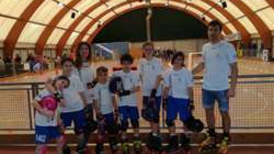 Roller San Marino: sul podio per i campionati UISP a Castel Maggiore