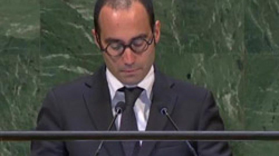 Discorso del Segretario di Stato per gli Affari Esteri di San Marino alla 73° sessione dell'Assemblea Generale ONU