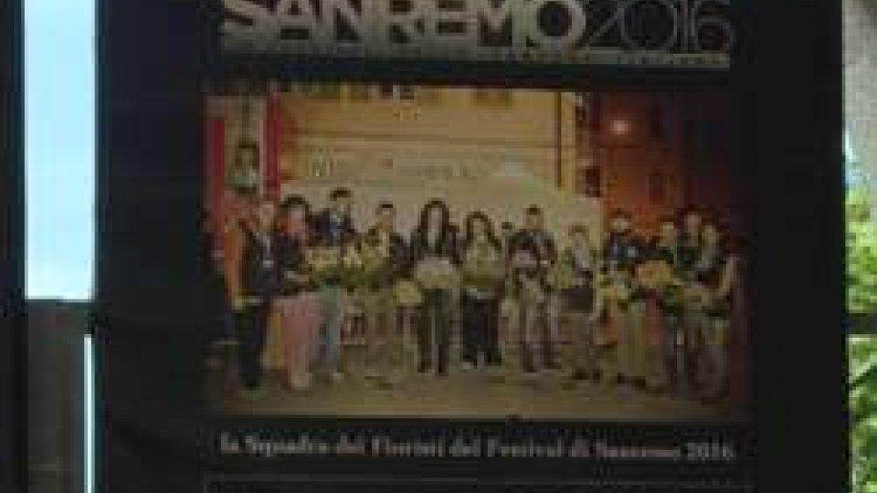 Fioristi a SanremoMARA VERBENA 'vince' Sanremo per la terza volta