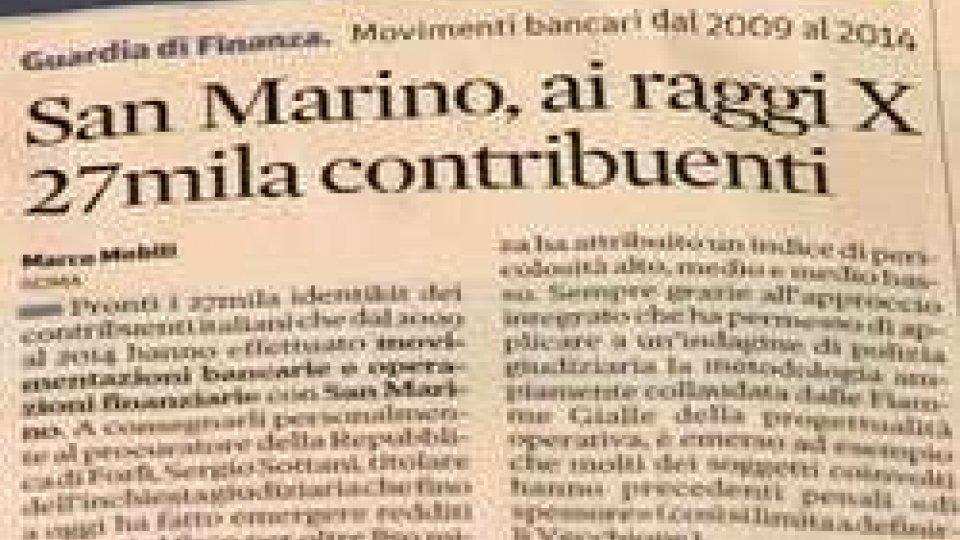 San Marino ai raggi X della stampa italiana