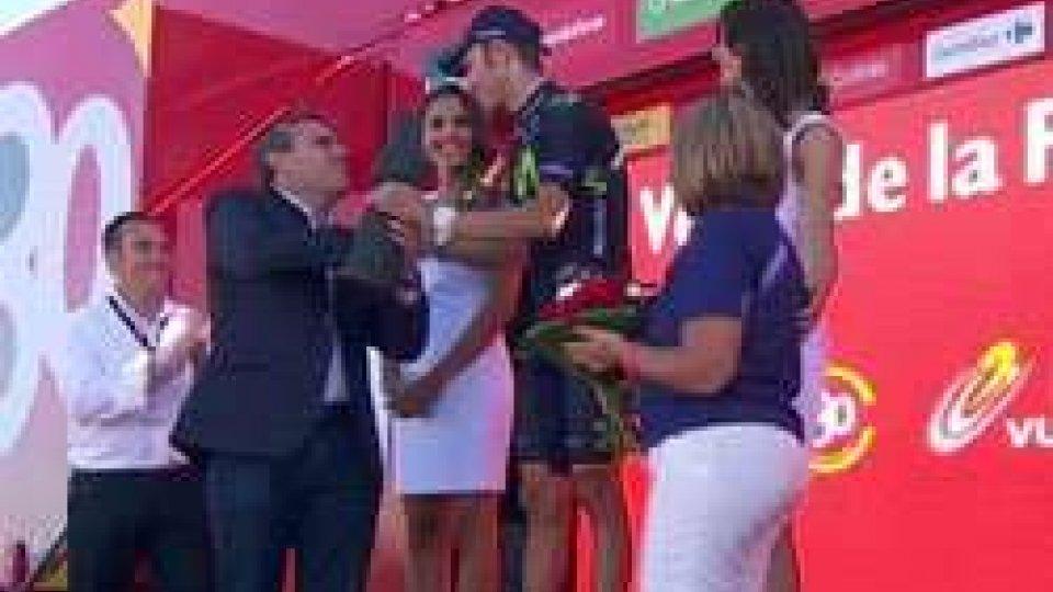 Vuelta, quarta tappa a Valverde. Sagan battuto allo sprintVuelta, quarta tappa a Valverde. Sagan battuto allo sprint