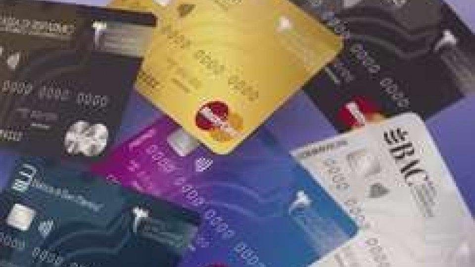 Carte di creditoSan Marino: Carte di credito, sostituite più di un terzo