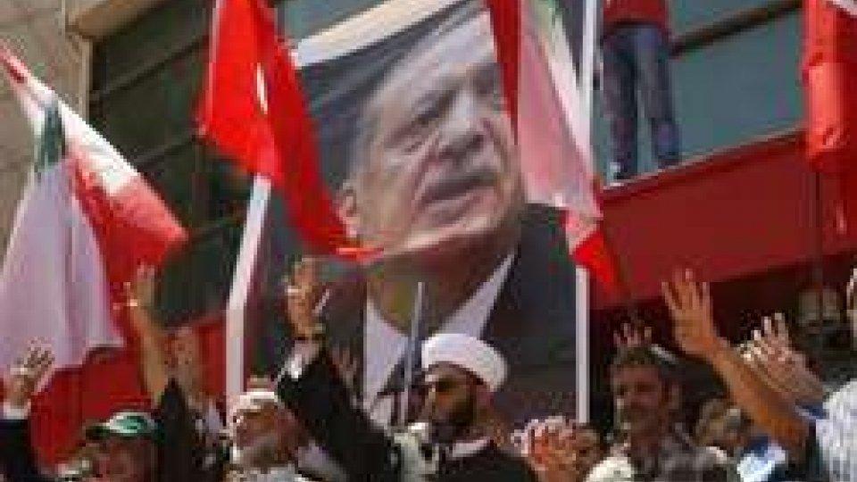 ph Ansa/EpaTurchia: tensione tra Erdogan e gli Stati Uniti