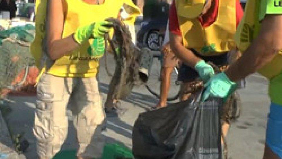 """""""In rete contro un mare di plastica""""""""In rete contro un mare di plastica"""", in Emilia-Romagna un progetto per il recupero dei rifiuti dai fondali"""