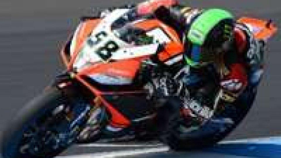 SBK: Fabrizio col miglior tempo nelle prove del GP d'Australia