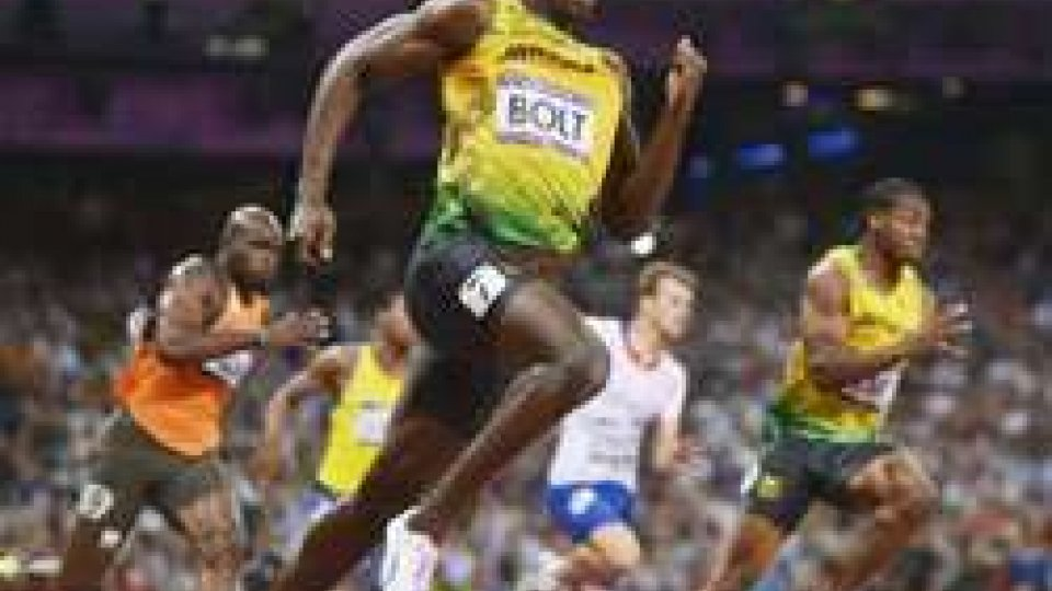Bolt, fulmine d'oro: iridato nei 200 in 19''55