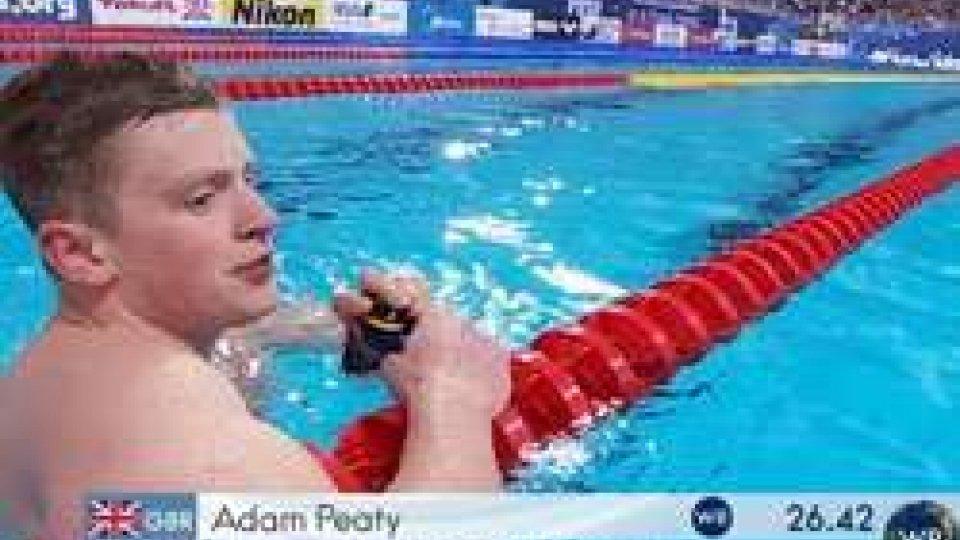 Adam PeatyKazan: nei 50 rana due record del mondo in pochi minuti