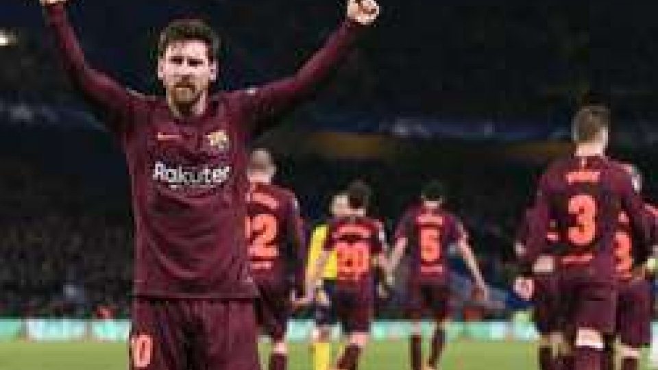 Champions League: termina 1-1 Chelsea-Barcellona