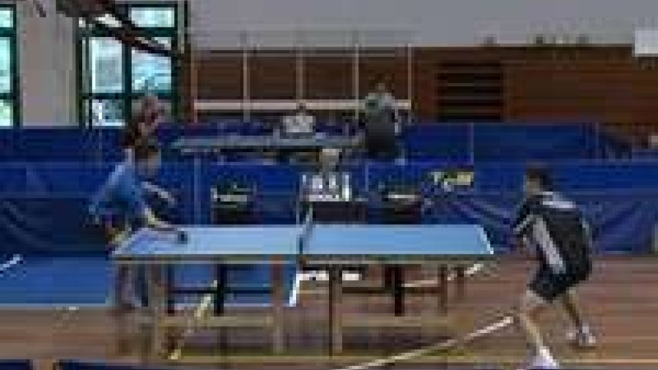 San Marino - Tennis tavolo, alla Juvenes il campionato di serie B1