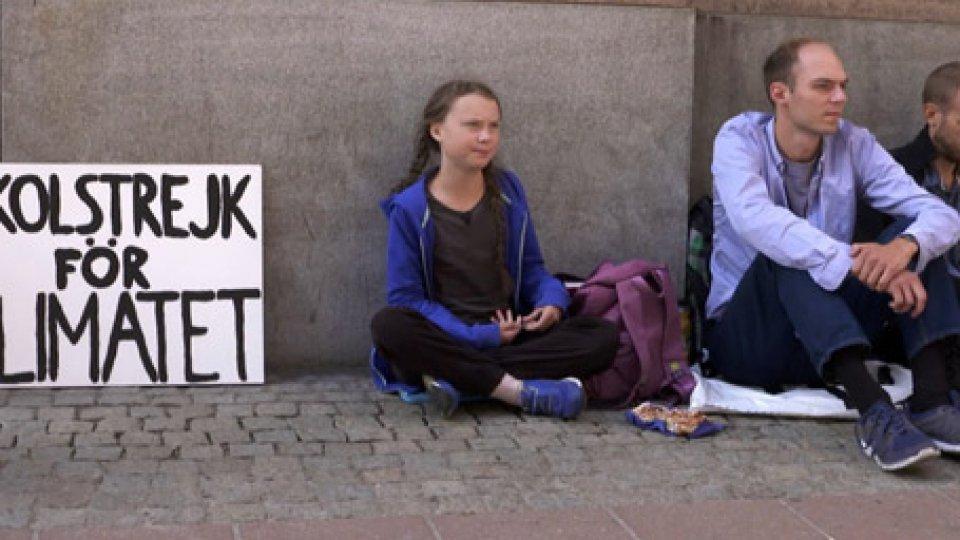Greta ThunberStudenti di tutto il mondo si mobilitano per il clima