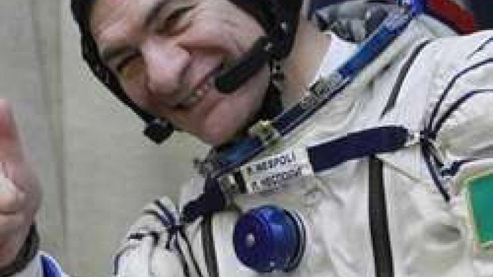 Paolo NespoliL'astronauta italiano Paolo Nespoli per la terza volta a bordo della Stazione Spaziale Internazionale