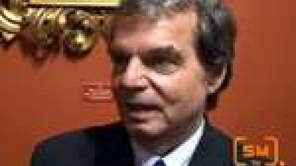 L'oratore del 1° ottobre, Renato Brunetta, a San Marino