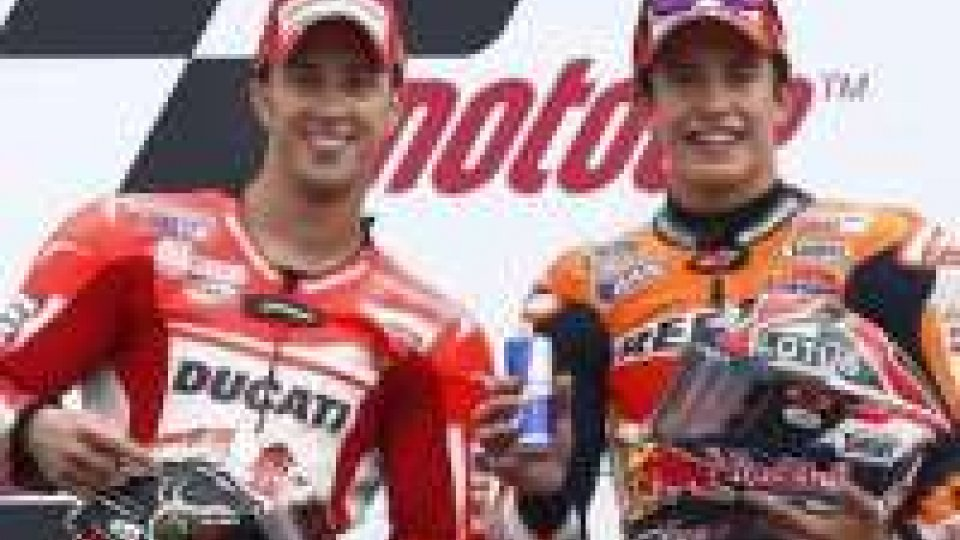Moto GP: domina Marquez davanti a Dovizioso In Motodue ottima gara con quinto posto finale per Alex De AngelisMoto GP: domina Marquez davanti a Dovizioso