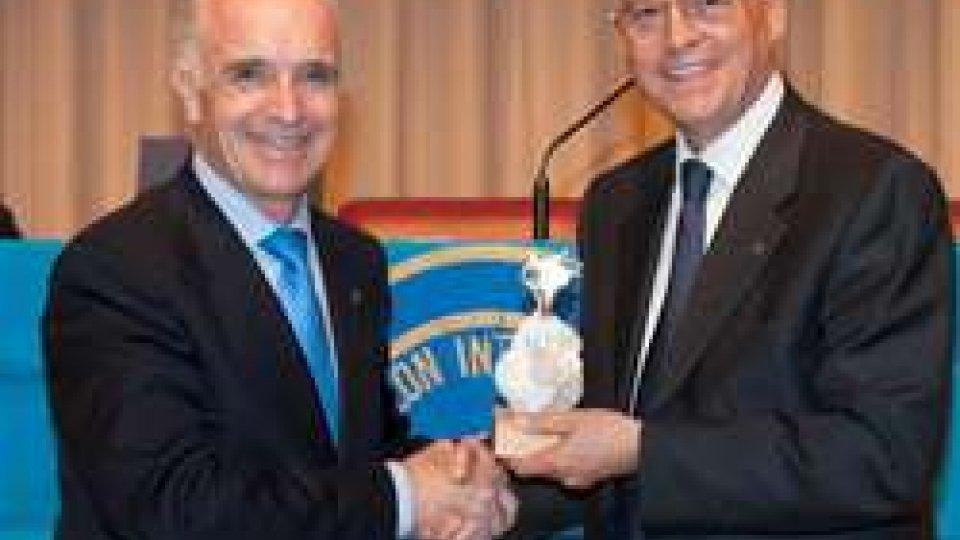 Storico riconoscimento internazionale per il Panathlon Club San Marino