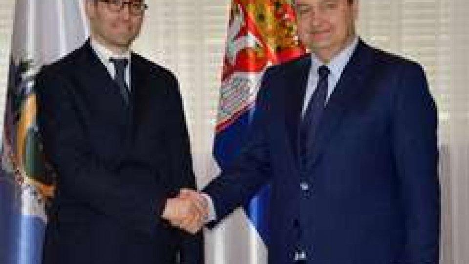 Nicola Renzi e Ivica Dacic