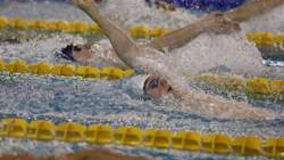 Nuoto: prestazione maiuscola dei nuotatori sammarinesi nelle batterie del mattino