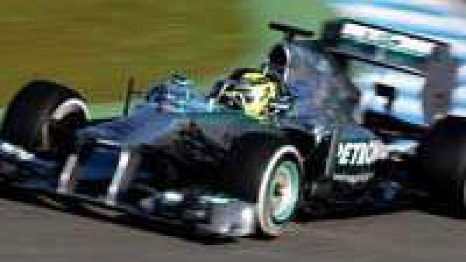 F1: Rosberg leader nelle libere