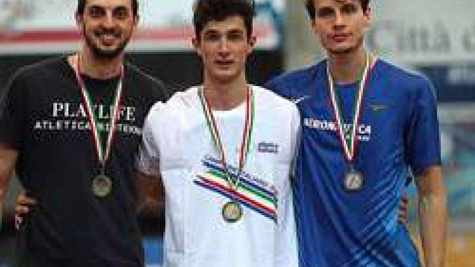 Eugenio Rossi stabilisce nuovo record sammarineseEugenio Rossi è vicecampione italiano