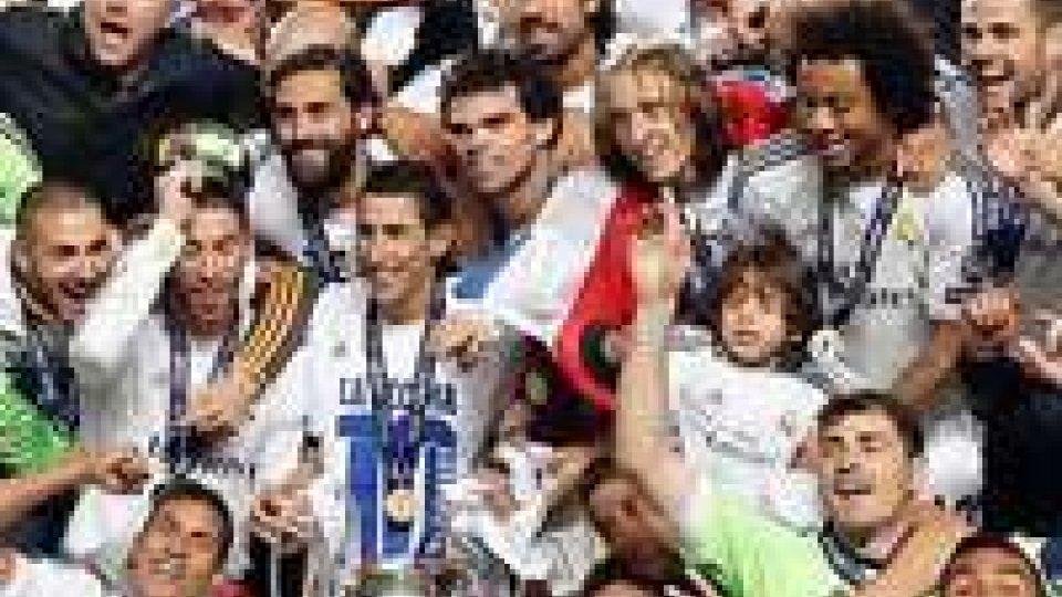 Madrid: è davvero una festa RealMadrid: è davvero una festa Real