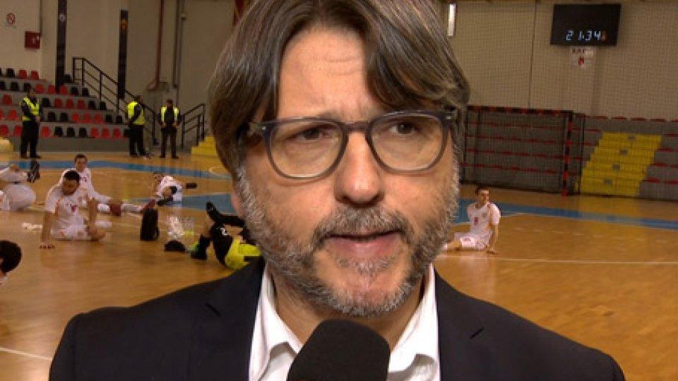 """Roberto OsimaniMacedonia-San Marino, Osimani: """"Partita compromessa all'inizio. Grecia? Adesso dobbiamo fare due chiacchiere tra noi"""""""
