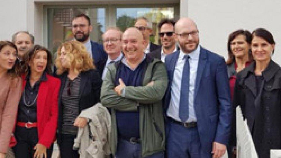 Il Ministro Fontana in visita alla Casa accoglienza A.R.O.P.