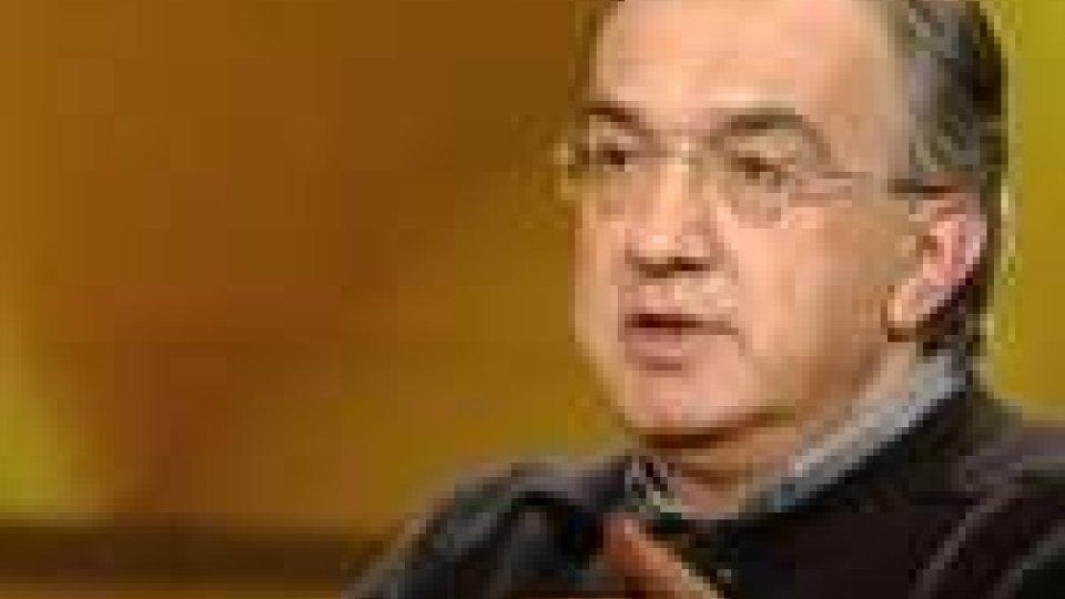 Sergio Marchionne sulla fusione Fiat-Chrysler