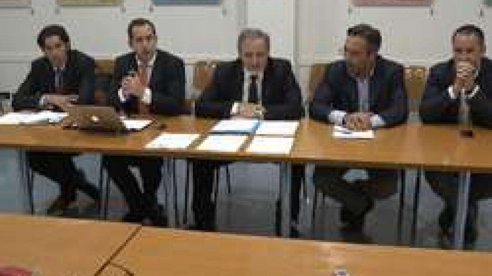 Conferenza PdcsL'opposizione dalla Reggenza per far ripartire il dialogo in Aula