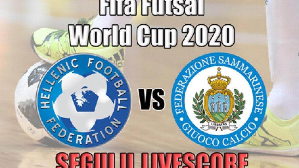 Futsal, Grecia-San Marino: 3-1  FINALE