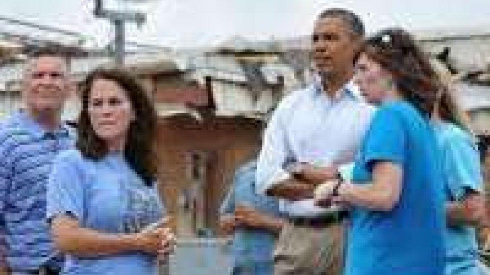 Usa: Obama in visita Oklshoma City