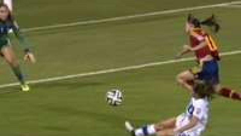 Mondiali femminili: Italia fuori con due rigori dubbiMondiali femminili: Italia fuori con due rigori dubbi