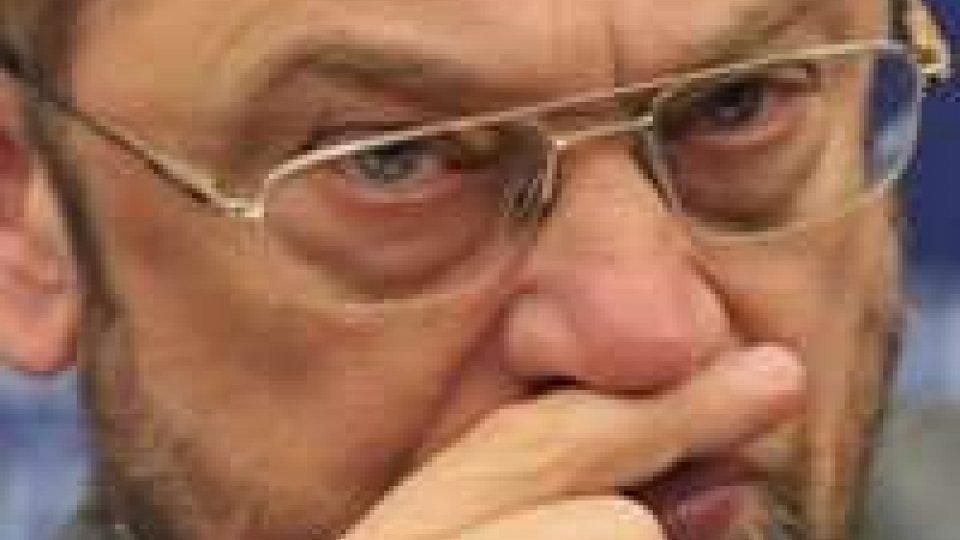 Sisma nell'Emilia: Schulz a muso duro