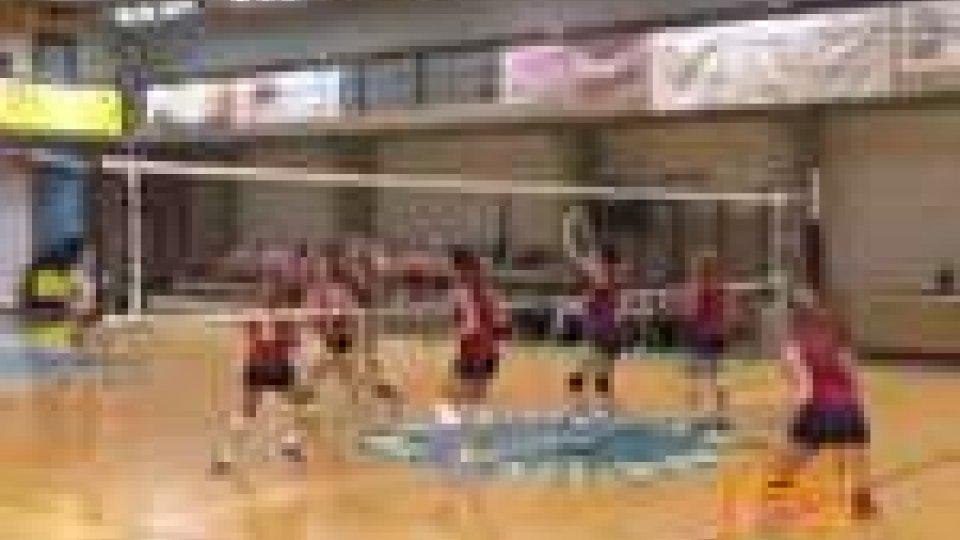 La nazionale sammarinese ha chiuso con una vittoria i amichevole l'ottima stagione del volley femminileLa nazionale sammarinese ha chiuso con una vittoria i amichevole l'ottima stagione del volley femminile