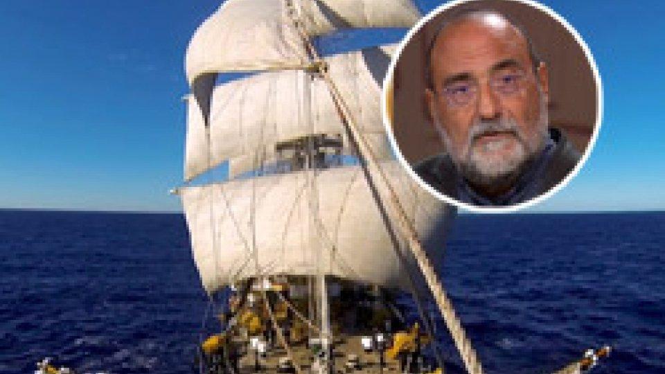 Nel tondino, il Dg Carlo RomeoMarina militare: il Dg Carlo Romeo sulla nave Vespucci in sosta ad Amburgo